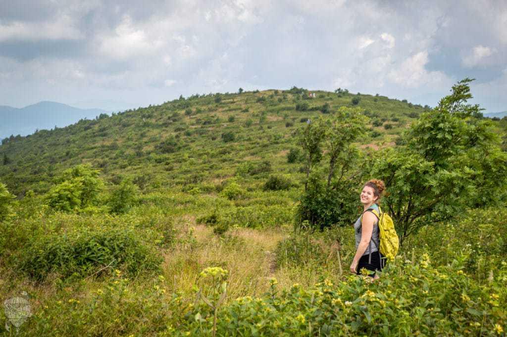 girl mountain