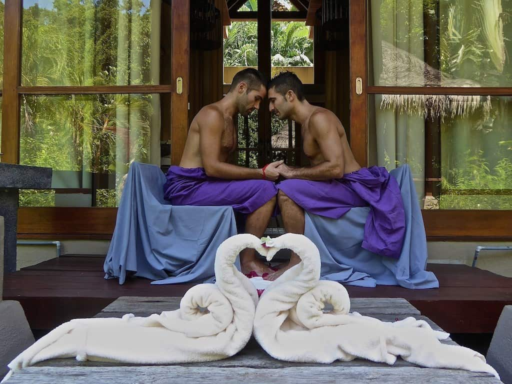 07 Spa lovers ritual at The Four Seasons, Langkawi island in Malaysia, July 2015
