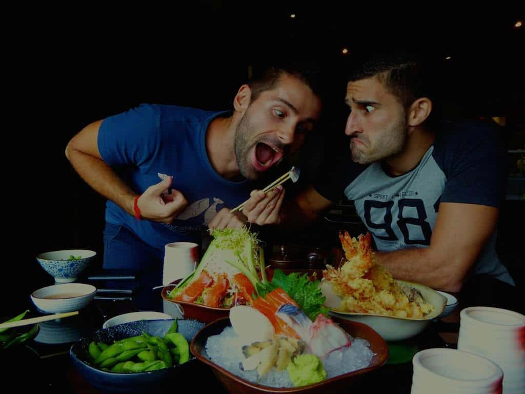 13 Trying and failing to share Japanese food in Kota Kinabalu, Malaysia Borneo, September 2015