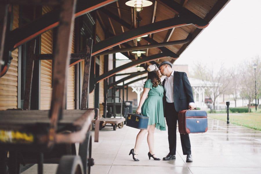vintage engagement 8