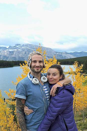 Two Jack Lake Rockies Canada, Two Scots Abroad, West Trek Tours