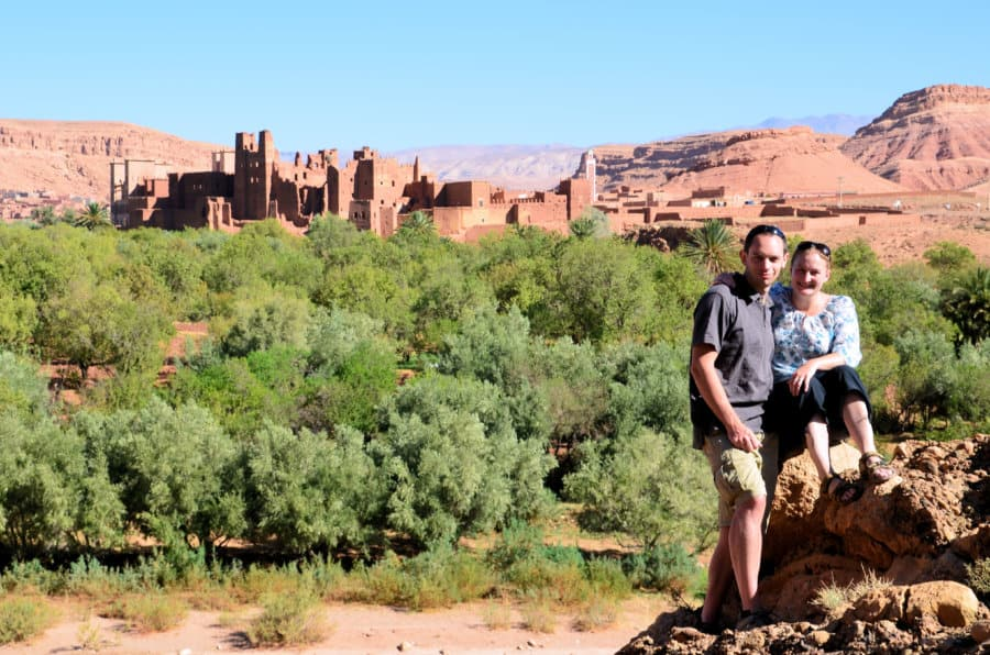 Heather and Peter Cole, Conversant Traveller, Tamdaght, Morocco