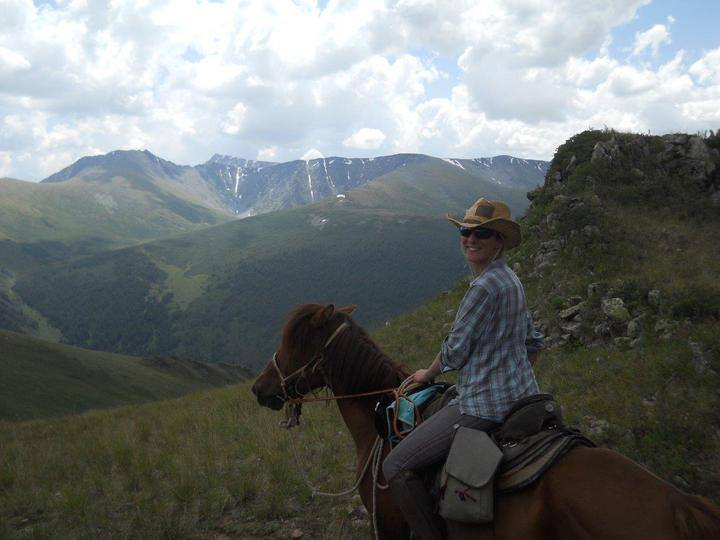 Treking in Mongolia